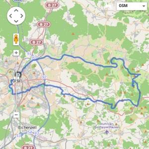 GPS Tracks – Milseburgtour MTB