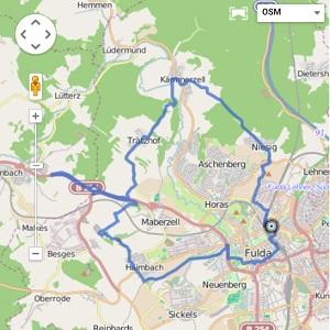 GPS Tracks – MTB Feierabendrunde