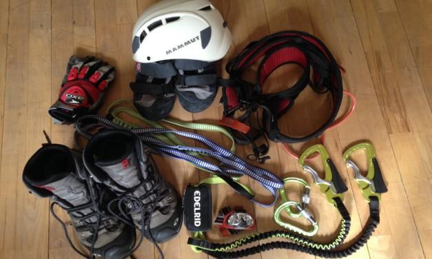 Klettersteigausrüstung! Was sollte dabei sein?