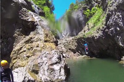 Video – Canyoning