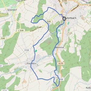GPS Tracks – HIKING Tour – Schloss Eisenbach
