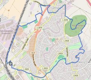GPS Tracks – HIKING Tour – Rauschenberg