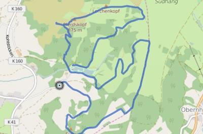 GPS Tracks – HIKING – Eube & Pferdskopf