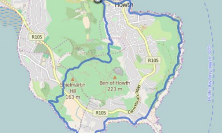 GPS Tracks – HIKING TOUR – Howth ( IRL )