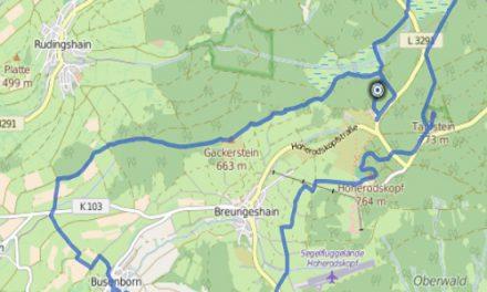 GPS Tracks – HIKING – Gipfeltour