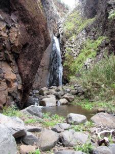 Der Wasserfall im Ribeira do Tristão