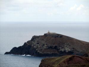 Leuchtturm auf der Ilhéu do Farol.