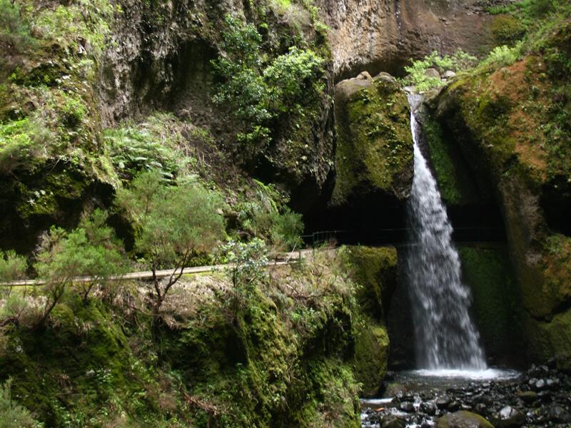 Das Tal der Ribeira da Ponta do Sol