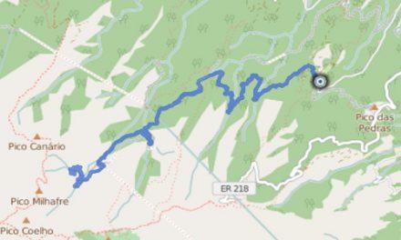 GPS Tracks – HIKING – Caldeirao Verde & Caldeirao do Inferno
