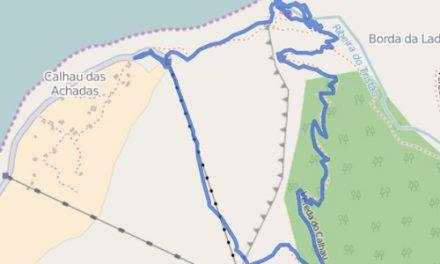 GPS Tracks – HIKING – Faja Quebrada Nova
