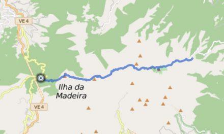 GPS Tracks – HIKING – Vom Boca da Encumeada zum Pico Ruivo