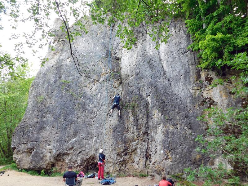 Kletterausrüstung Globetrotter : Klettern im frankenjura u2013 treunitzer wand my outdoor stories