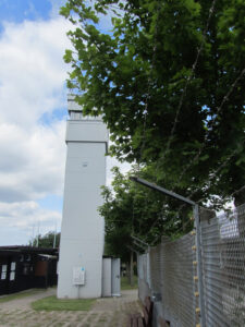 Wachturm im Grenzmuseum