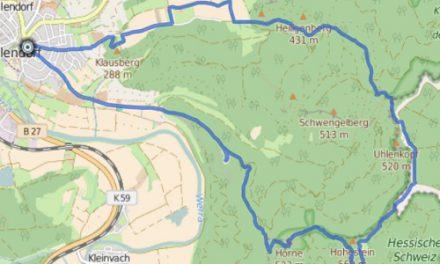 GPS Tracks – HIKING – Hörne & Schloss Rothestein