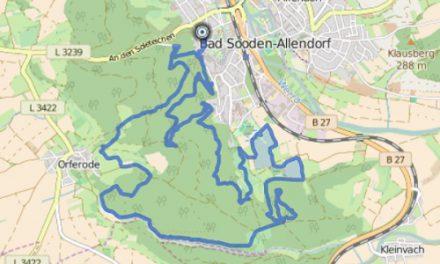 GPS Tracks – HIKING – P7 Söder Wald