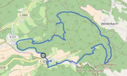 GPS Tracks – HIKING – P16 Asbach-Sickenberg