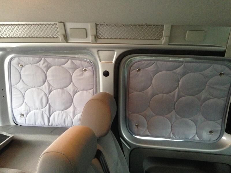 Verdunklungssystem VW Caddy