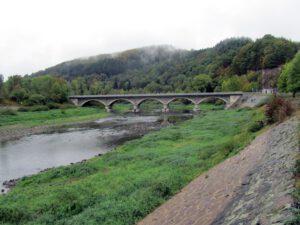 Bogenbrücke bei Herzhausen