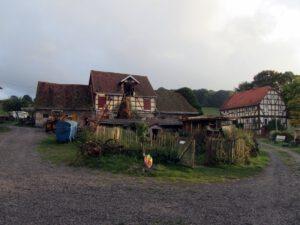 Bauernhof am Campingplatz Asel-Süd