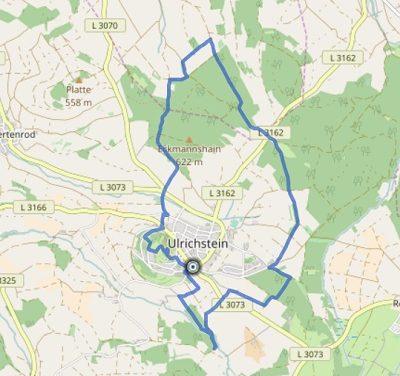 GPS Tracks – HIKING Tour – Weitblicktour Ulrichstein