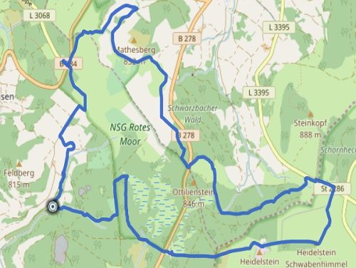 GPS Tracks – HIKING – Rotes Moor