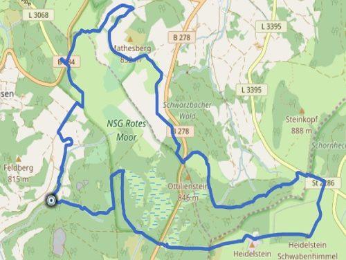 GPS Tracks – HIKING – Rotes Moor