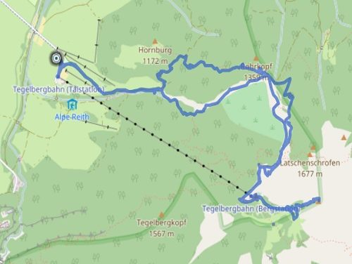 GPS Tracks – MOUNTAINEERING – Tegelberg