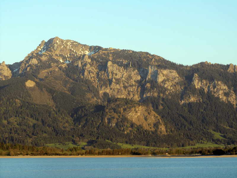 Tegelberg am Forggensee