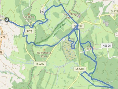 GPS Tracks – HIKING – Schwarzes Moor
