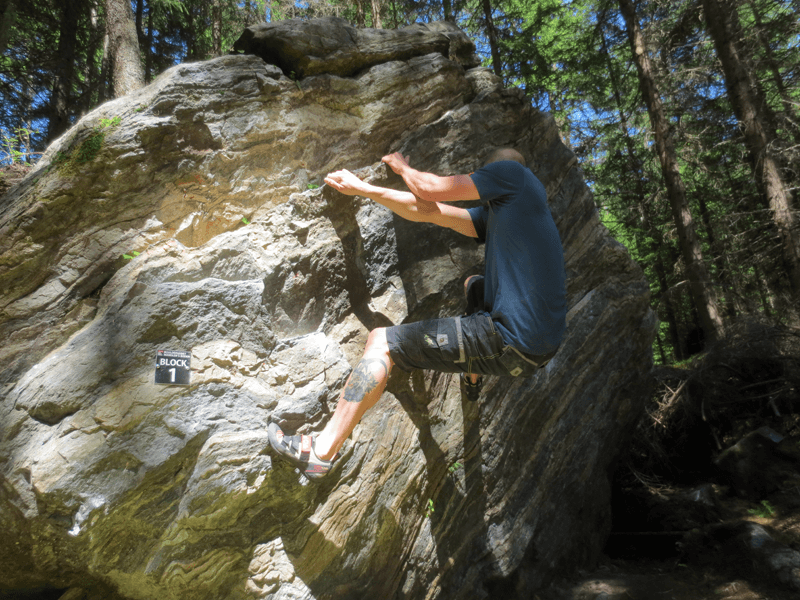 Bouldergebiet Mandler's Boden