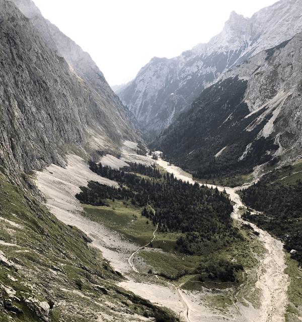 Durchs Höllental auf die Zugspitze