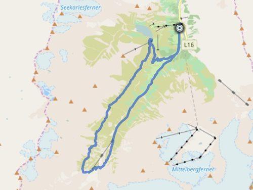 GPS Tracks – Fuldaer Höhenweg – HIKING