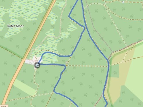 Loipenpark Rotes Moor – 3,5 km ( leicht )