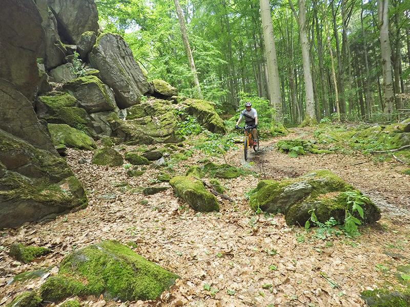 Mountainbike-Tour zur Milseburg