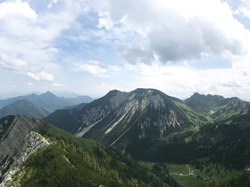 Bergwanderung zur Rotwand