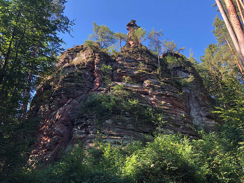 Klettern im Dahner Felsenland